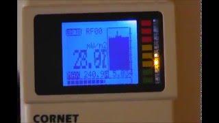 RF Radiation  From Cellphone/  Radiacion del Telefono Celular