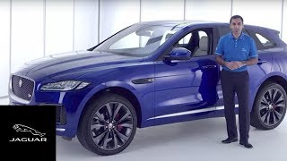 Jaguar F-PACE | Connected Technology and Infotainment