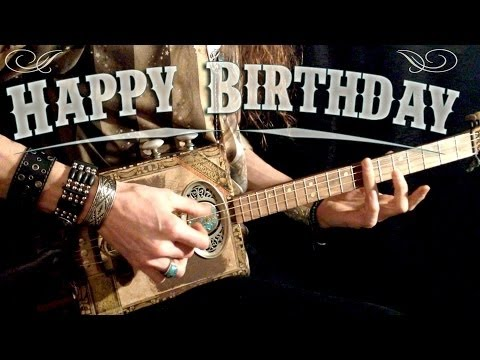 Happy Birthday Rock Version Youtube