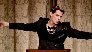 Flaming Gay Conservative & Trump Supporter - MILO, Gives Fabulous Speech On Culture War