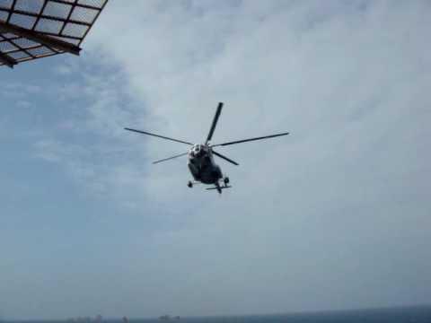 Mi-8 Helicopter Offshore Vietnam