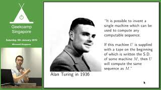 How Alan Turing accidentally invented Software - GeekCampSG 2019