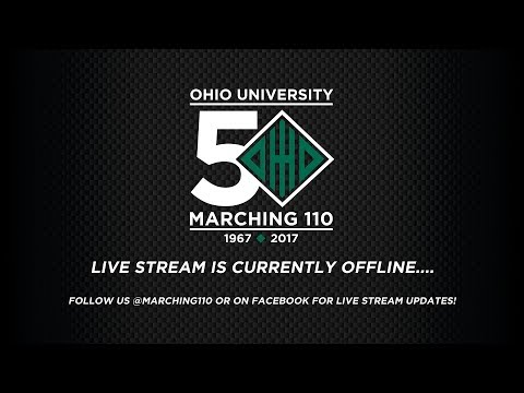 Marching 110 - OHIO vs Central Michigan Postgame Show (Homecoming 2017)