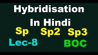 hybridisation in organic chemistry in hindi || Basic of Organic Chemistry | Eminent Guide