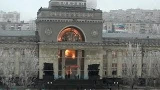 Вокзал в Волгограде взрывали двое: обнаружен палец с чекой от гранаты