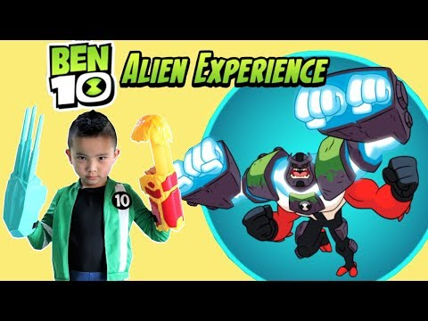 NEW Ben 10 Alien Experience AR Game Fun With Ckn Toys