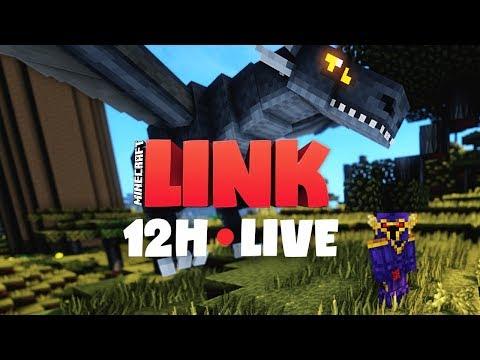 Minecraft LINK • 12H STREAM - PART 2/2