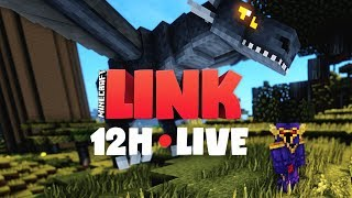 Minecraft LINK • 12H STREAM - PART 2/2
