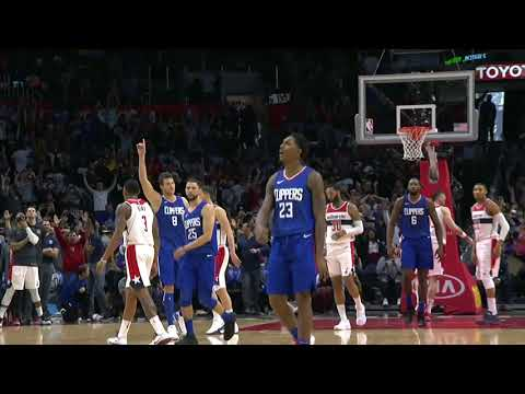 LA Clippers-Lou Williams-Game Winning 3 Pointer 12/09/2017 (Clippers vs Wizards)