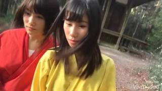 石田優美 Ishida Yuumi【NMB48】with 城恵理子 - in 忍者村 - 2016.01.03.