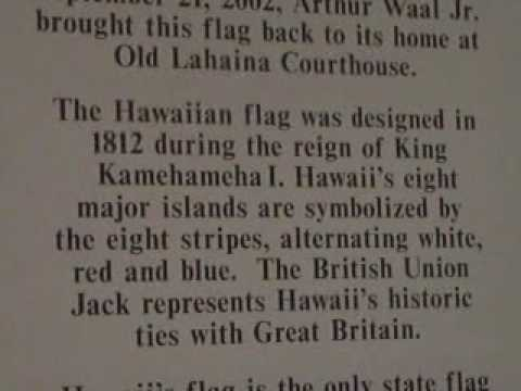 Hawaii Flag history