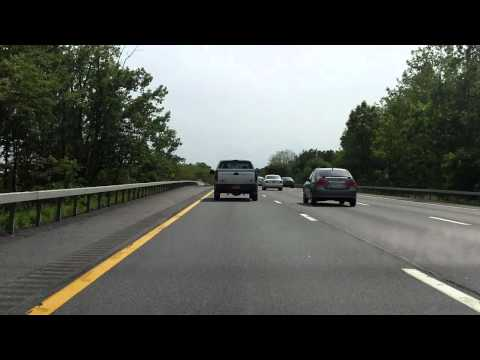 Adirondack Northway (Interstate 87 Exits 8 to 1) southbound