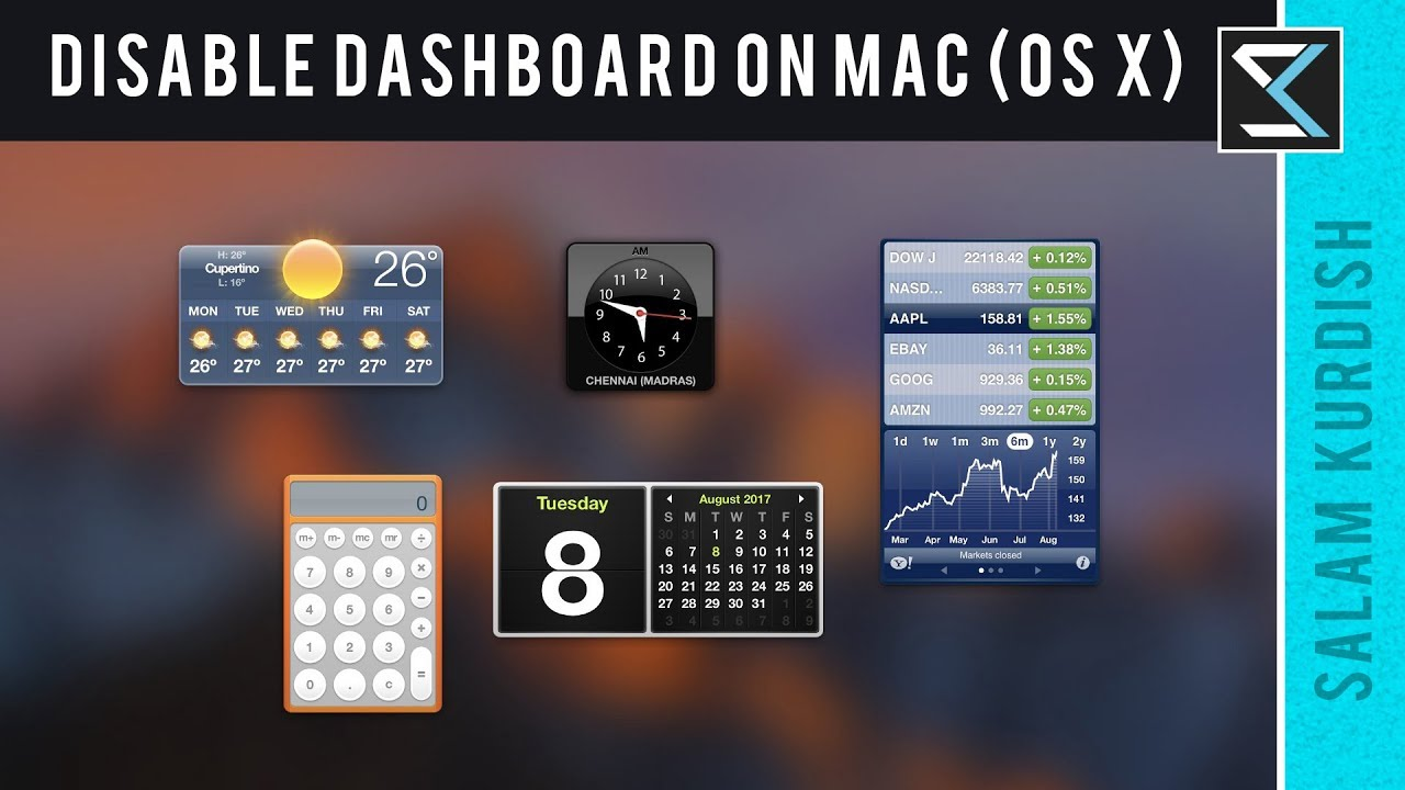 How To Remove Dashboard On Macbook Pro How to Turn Off Close