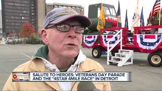 Veterans Day parade and the
