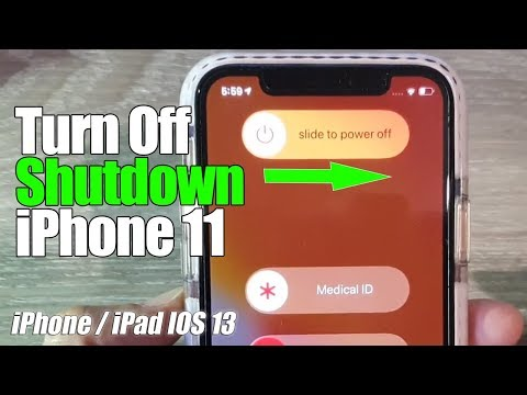 iPhone 11 how to switch off, restart, force restart and turn back on. This method works on iPhone 11.