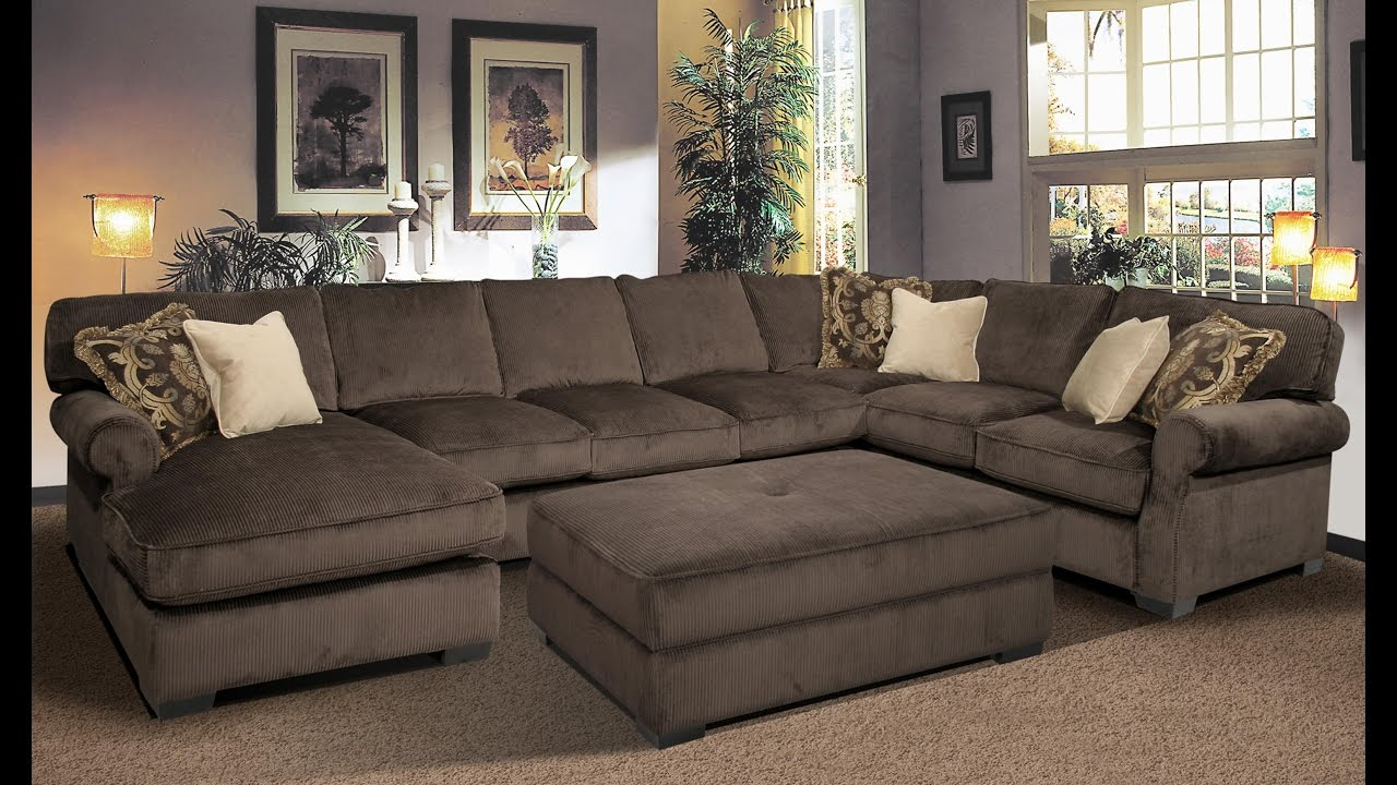 Captivating Oversized Couch And Loveseat