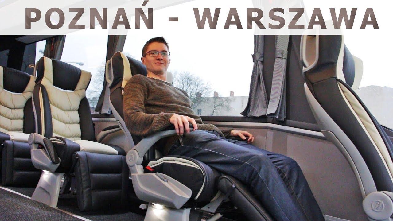 Linia dla biznesu Poznań – Warszawa / Business bus line Poznan – Warsaw