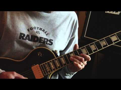 How to Play Stranglehold by Ted Nugent, including solo.