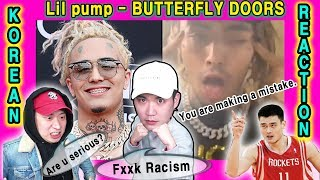 [ENG SUB]🔥 NO RACISM PLEASE... Lil Pump - Butterfly Doors Koreans Reaction Video