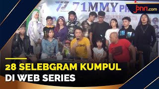 Seru! 28 Selebgram Main Web Series Bareng Berjudul Nama Gue Jichy - JPNN.com