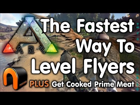 Ark The Fastest Way to Level Flyers