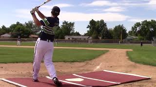 Lucas Plummer, Class of 2020, Baseball Skills Video