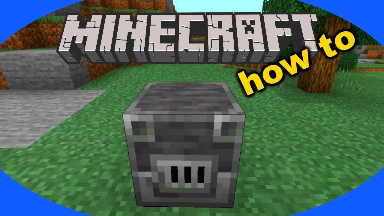 How to Craft and Use a Stonecutter in Minecraft - YouTube