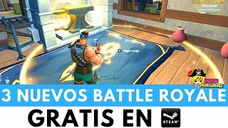 3 BATTLE ROYALE NUEVOS | Realm Royale - Radical Heights - Tottaly Accurate Battleground