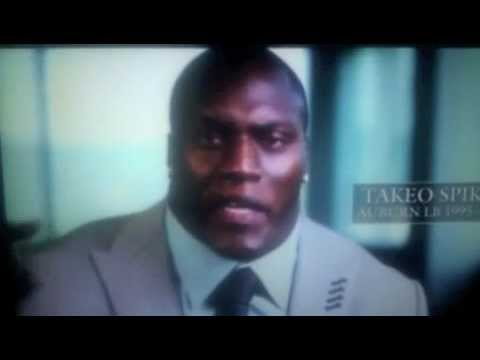 Takeo Spikes says WAR EAGLE