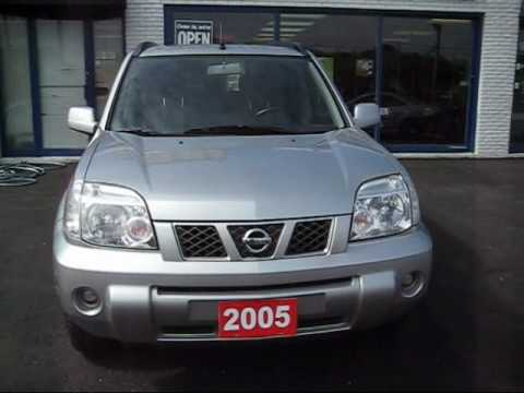 2005 NISSAN X-TRAIL 4WD EXTERIOR & INTERIOR VIDEO.wmv