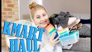 HUGE KMART HAUL!! | CLOTHING, SHOES, KITCHEN WARE