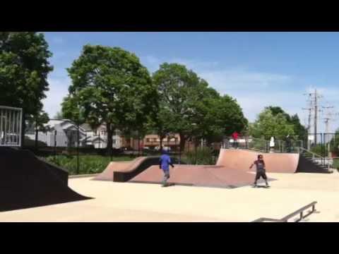Franklin Middle School skate club