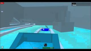 Roblox- Icy Rollercoaster!