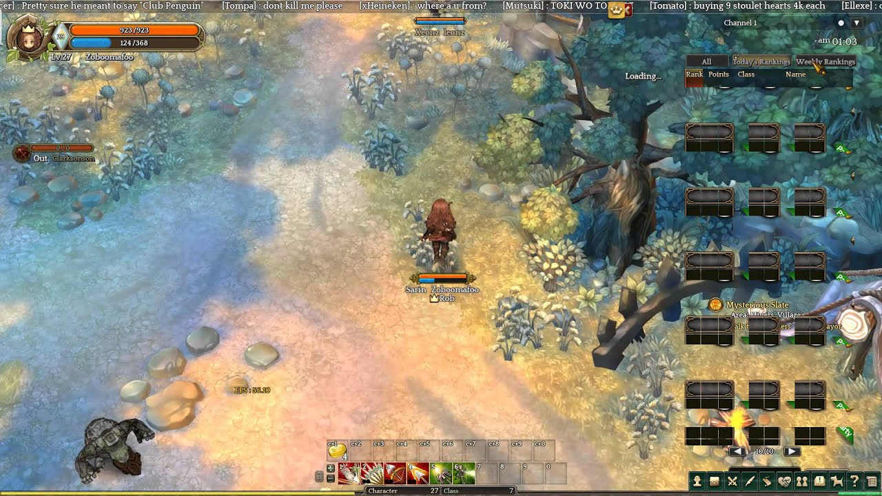 Tree Of Savior Beta Wiping Out Hanamings Black Haircolor YouTube - Hairstyle color tree of savior