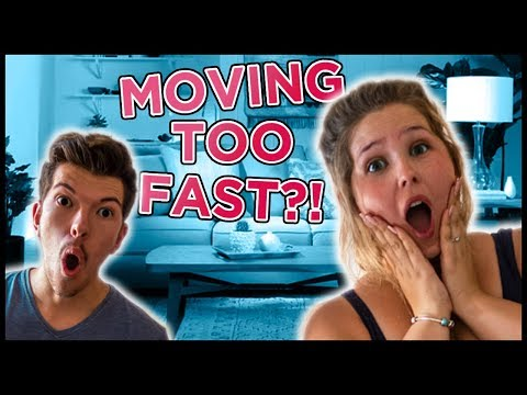 moving to fast dating
