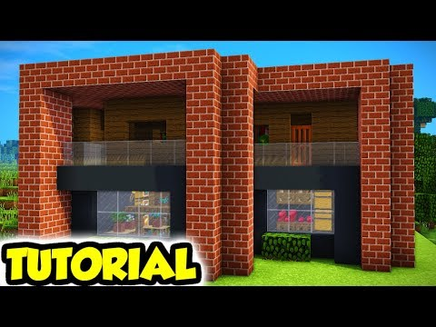 Minecraft Modern Survival House Tutorial Guide How To Build Ideas Youtube