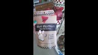 Mutt Meatballs - Organic meatballs for Dogs Thumbnail