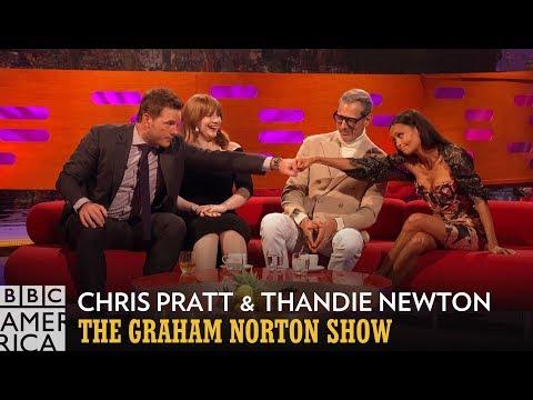 Thandie Newton and Chris Pratt Discuss Bush vs. No Bush - The Graham Norton Show