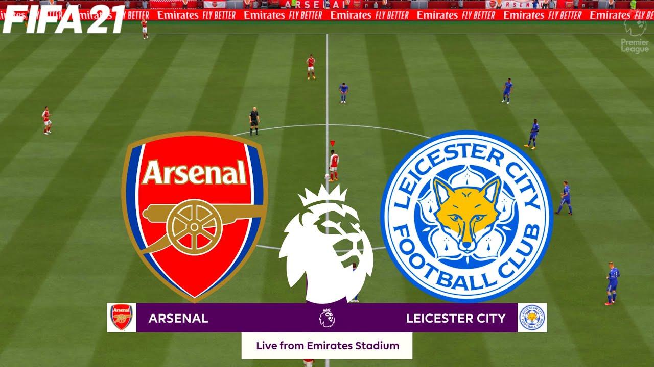 FIFA 21   Arsenal vs Leicester City - Premier League 20/21 ...