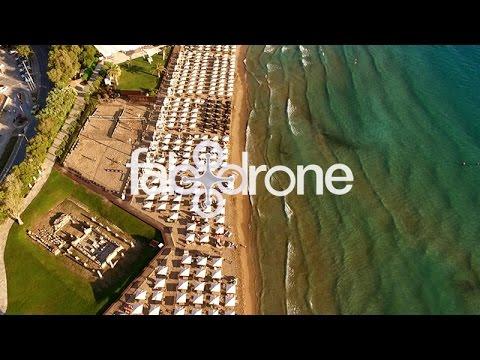 Ο Αστέρας Βουλιαγμένης από ψηλά - Astir beach, Athens Riviera - Temple of Apollo Zoster. drone video