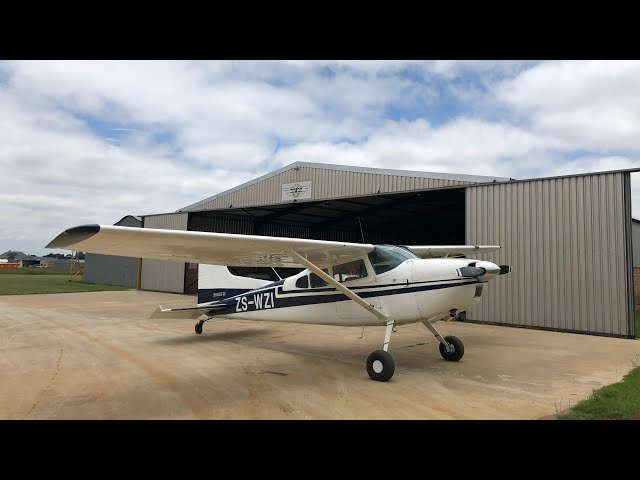 Cessna 185 - Getting reacquainted - GoPro Max