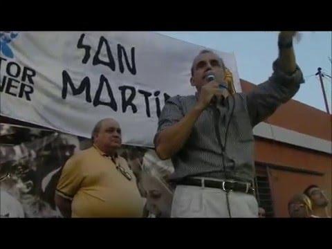 Guillermo Moreno en San Martín completo