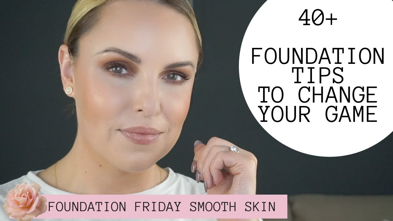 9+ FOUNDATION TRICKS FOR FOR SMOOTH & PERFECT APPLICATION Oily to Dry  Skin Tips
