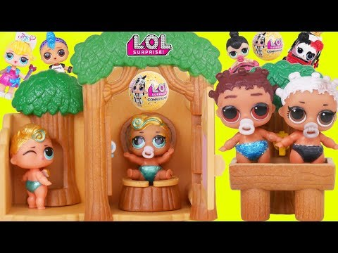 LOL Doll Twin Family School Morning Routine to Barbie Night Routine