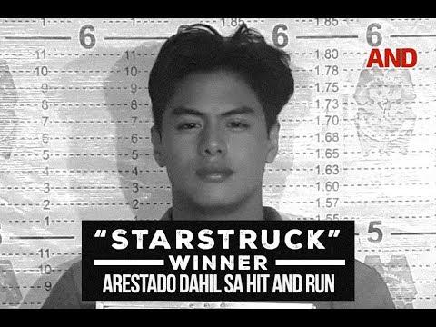 StarStruck winner, arestado dahil sa hit-and-run