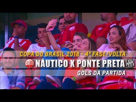 HD⁶⁰ | Gol: Náutico 1 x 0 Ponte Preta - Copa do Brasil 2018 (4ª Fase/Volta)