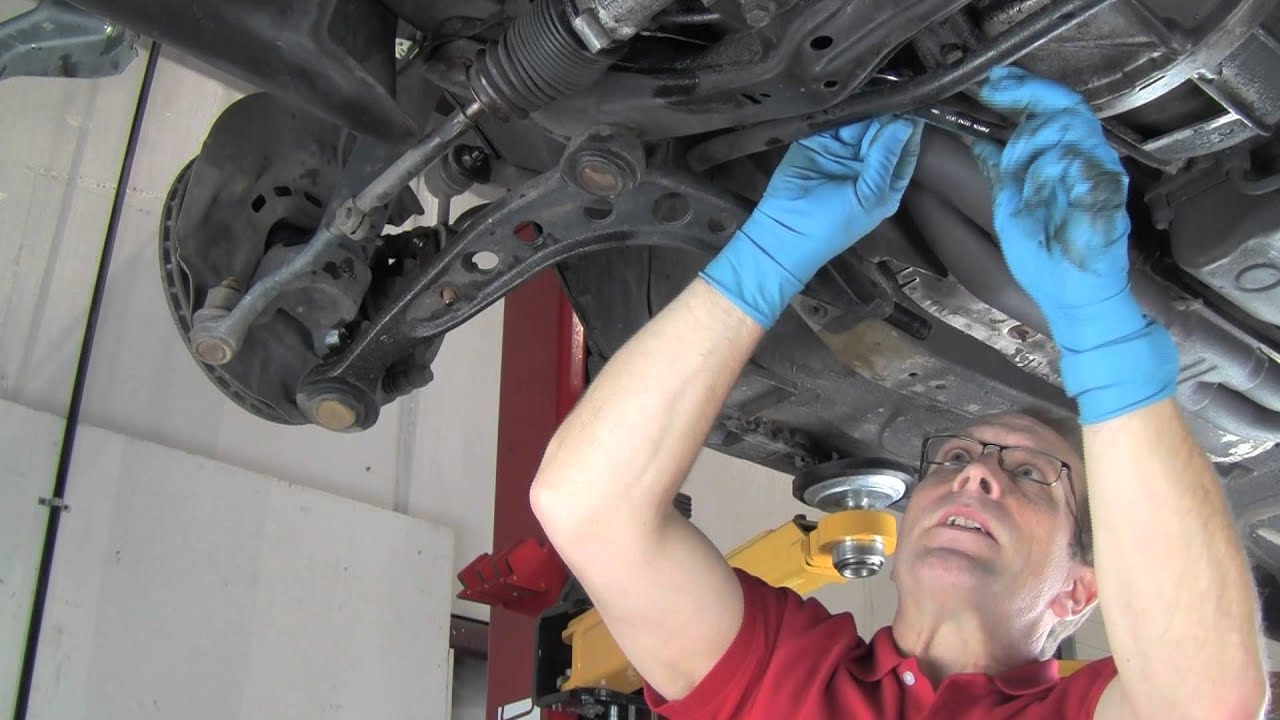 Part 1: Replacing Control Arms in a BMW 3 Series or MINI ...
