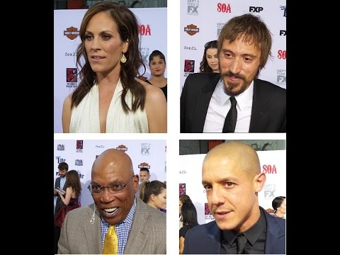 On the Red Carpet  Sons of Anarchy Video 2  Annabeth, Niko, Paris, Theo