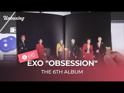 "Unboxing & Giveaway EXO ""OBSESSION"" the 6th album, 엑소 언박싱 Kpop Ktown4u"