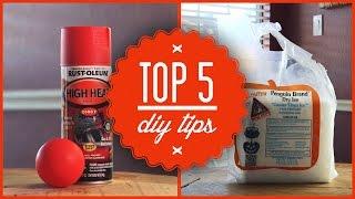 Top 5 DIY Tips